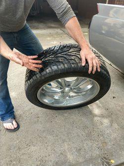 Boss 304 20 inch rims w/tires Thumbnail