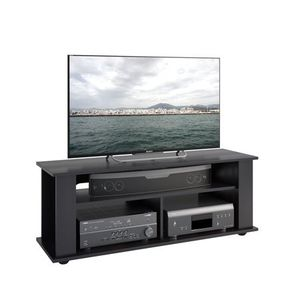 "CorLiving Bakersfield TV / Component Stand in Ravenwood Black, for up to 55"" TVs for Sale in Houston, TX"