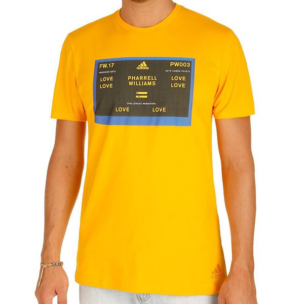 419b9b61 Adidas Pharrell Williams New York Graphic Tee Gold Men's size Large new  with tags (Clothing & Shoes) in Glendale, AZ - OfferUp
