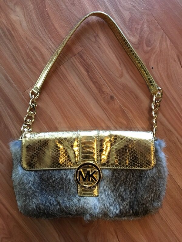4bf3db2d05b4 Michael Kors real rabbit fur purse for Sale in Fort Worth, TX - OfferUp