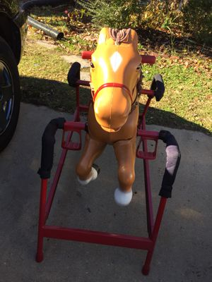 Radio Flyer rocking horse with sound . for Sale in Adelphi, MD