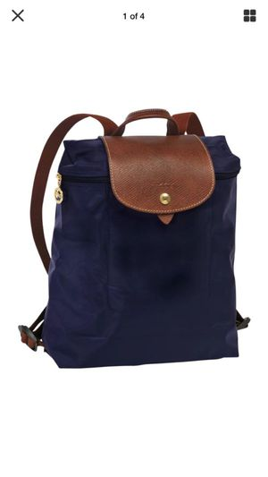 Longchamp backpack Authentic Navy Blue/ for Sale in Kirkland, WA