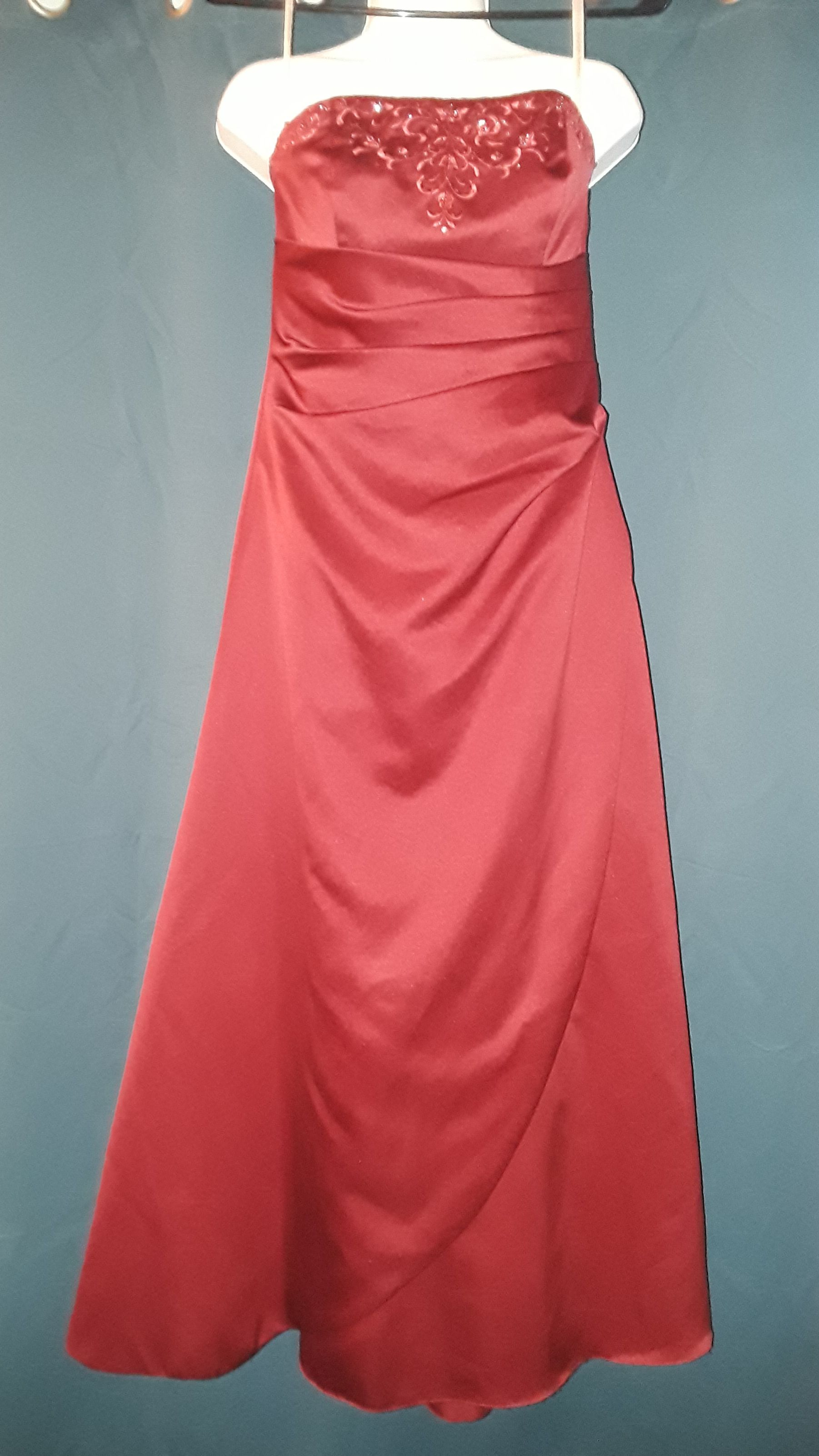 Maroon / red Prom Dress size 4