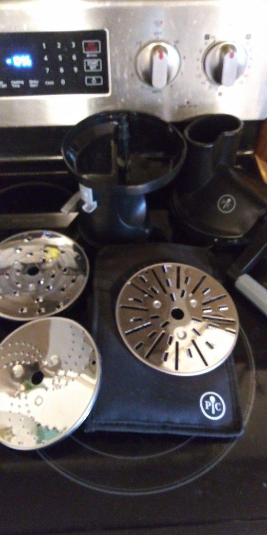 Manual Pampered  Chef Shredder Slicer