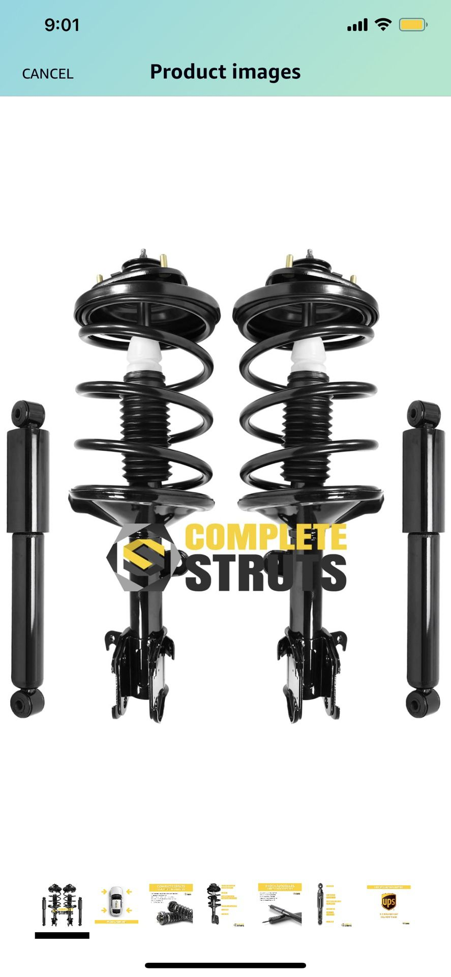 1(contact info removed) Honda Odyssey Struts and Shock Absorber...Brand New in BOX not able to return it w/in the return policy period