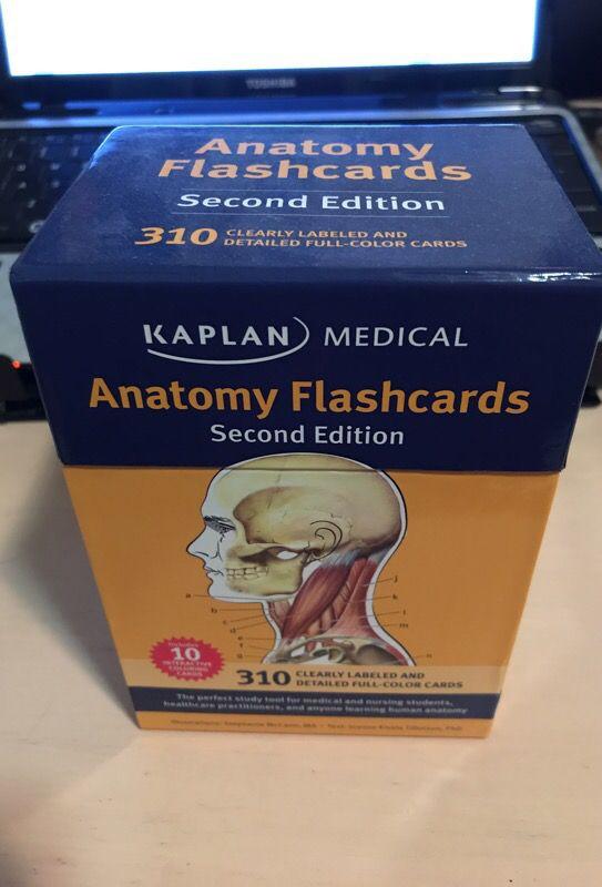 Kaplan Human Anatomy Flashcards (Books & Magazines) in Cupertino, CA ...
