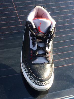 e91338552d7 Air Jordan Retro 3 Black Cement 2011 for Sale in Boston, MA