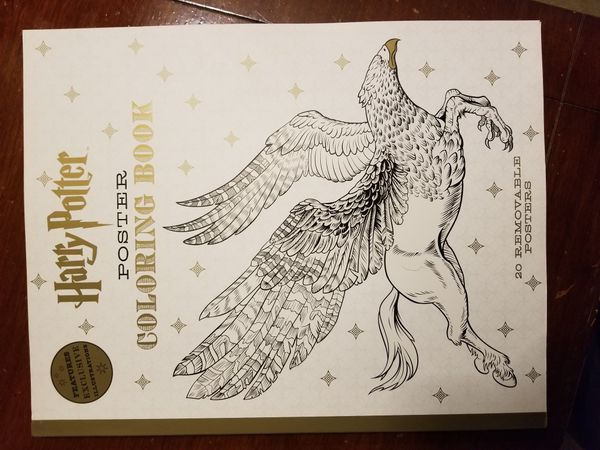 Harry Potter Poster Coloring Book Arts Crafts In Brockton MA