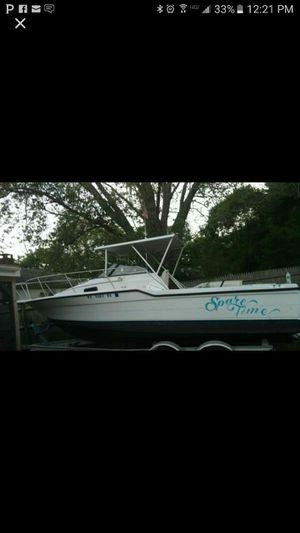23 ft Bayliner and double axle trailer for Sale in Boston, MA