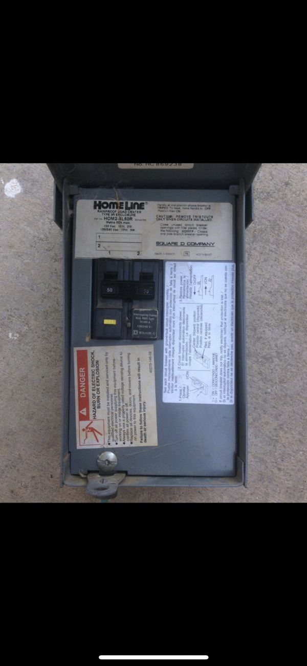 Admirable Square D 240 Amp Fuse Box For Sale In Bakersfield Ca Offerup Wiring Cloud Hisonuggs Outletorg