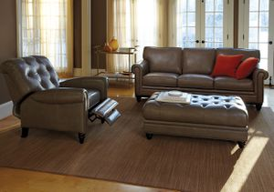 Leather couch for Sale in Bethesda, MD