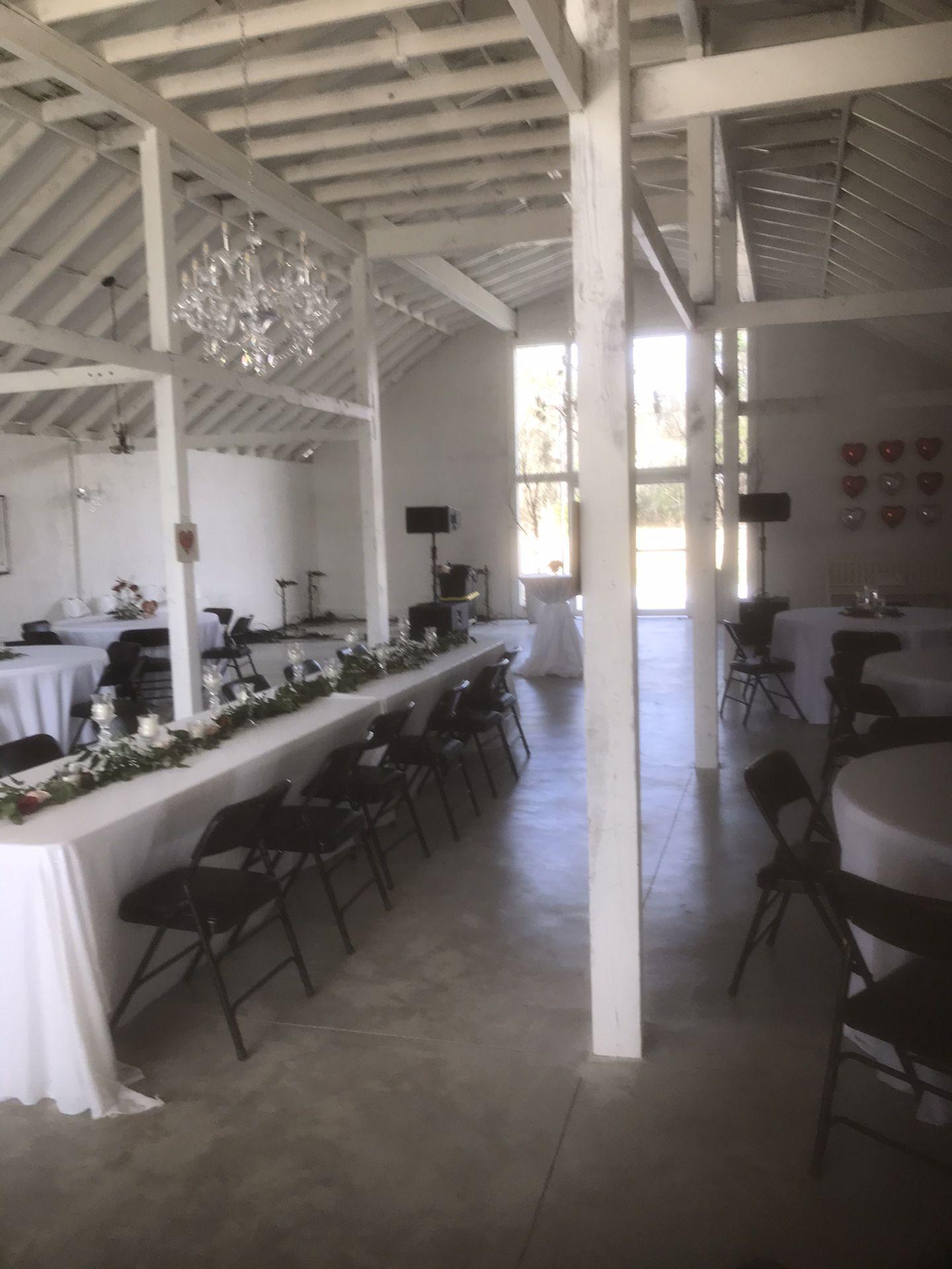 Party venue for rent $1
