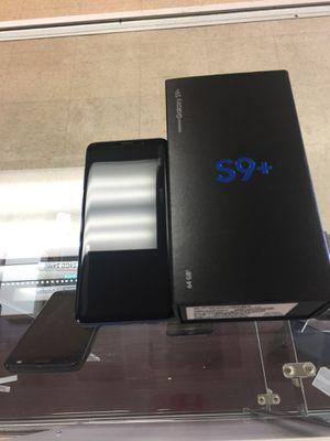 New Samsung galaxy s9 Plus 64 GB blAck unlocked for Sale in Richmond, VA