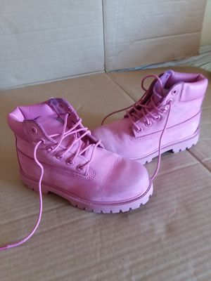 Timberland boots Pink Girl's Size 12 for Sale in Adelphi, MD