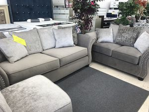 CLEARANCE LIVING ROOM SET SOFA AND LOVESEAT ON SALE for Sale in Hyattsville, MD