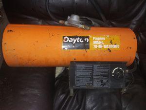 Photo Dayton Propane heater 3VE57