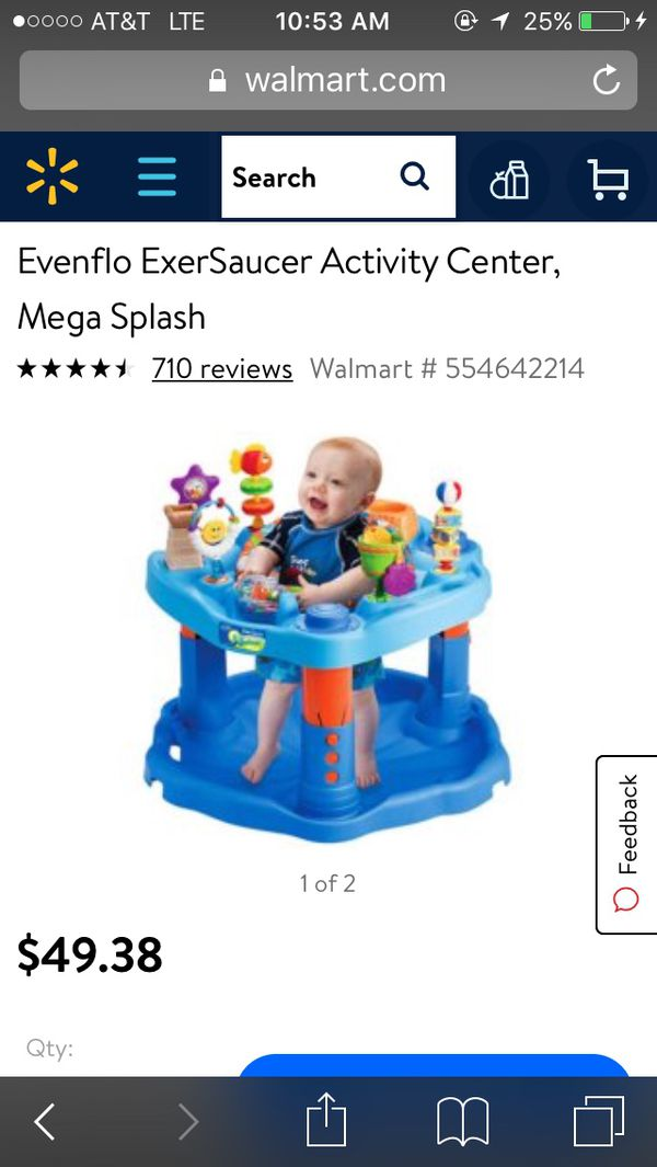 f2aaa1bc0637 Evenflo exersaucer activity center baby toy for Sale in Marietta