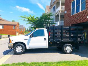 Ford F350 F250 F150 stake body flat bed Work truck for Sale in Derwood, MD