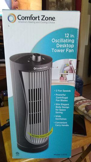 Desk top tower fan for Sale in San Antonio, TX