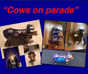 """Cows on parade "" Chicago: tutancowman bank for Sale in Fairfax, VA"