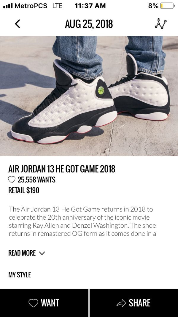 45d743e81324b0 Jordan he got game 13s ds for Sale in Seattle