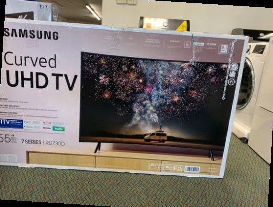 Brand New Curved Samsung 55 TV Open Box w/ Warranty