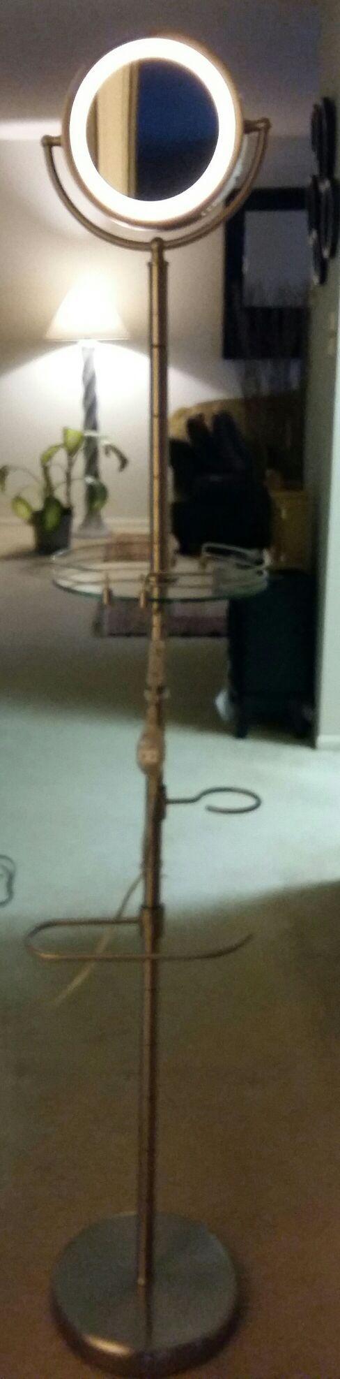 Floor standing makeup mirror (Furniture) in Lutherville-Timonium, MD ...