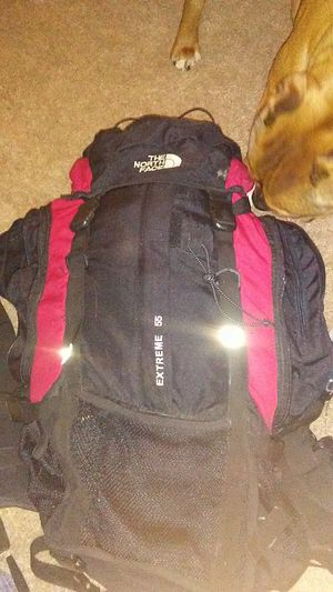 North face extreme 55 lt pack for Sale in Potomac Falls, VA