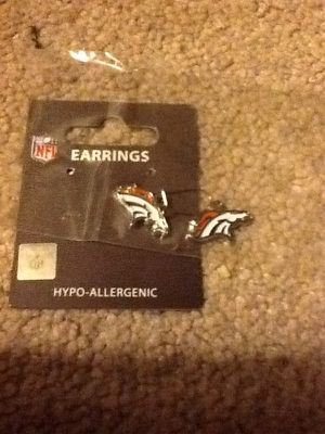 New NFL Denver Broncos earrings for Sale in Kissimmee, FL
