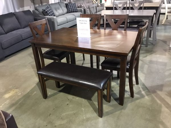 6pc Dining Table Set
