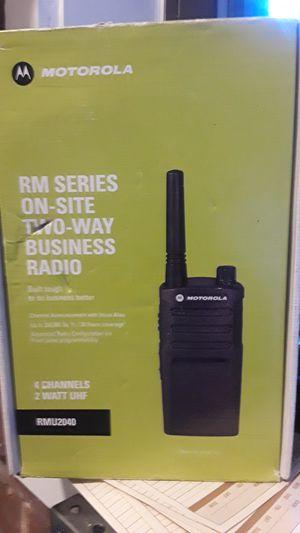 Motorola walkie rmu2040 for Sale in New York, NY