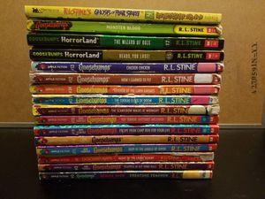 Goosebump book lot for Sale in WA, US