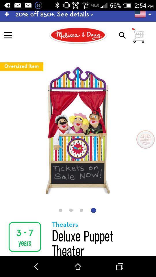 Children's Puppet Theater New
