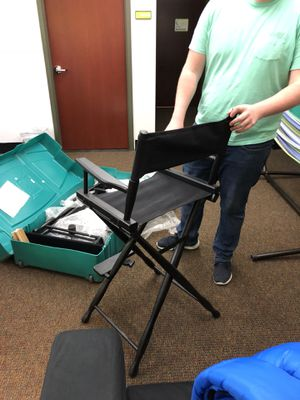 Directors Chairs and Carrying Case for Sale in Tampa, FL