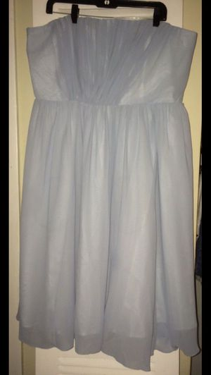 H&M strapless dusty blue color dress for Sale in Washington, DC