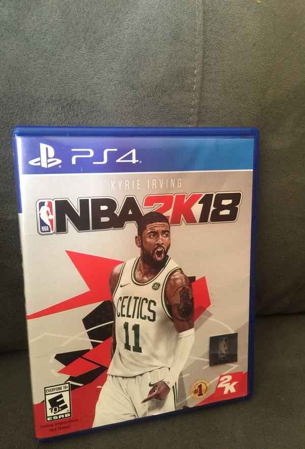 a009f6392f20ed NBA 2K18 PS4 for Sale in North Las Vegas