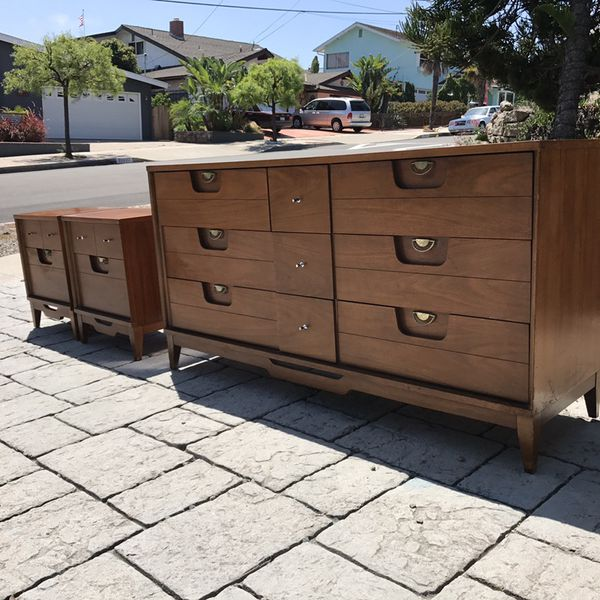 Vintage Solid Wood Bedroom Set By Basic Witz Furniture Brand For In Dana Point Ca Offerup