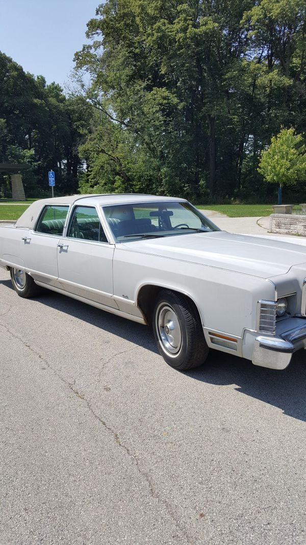 1976 Lincoln Continental Town Car For Sale In Hodgkins Il Offerup