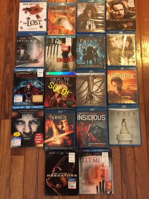 Horror/Scary Movies!! MOVING SALE! for Sale in Baltimore, MD
