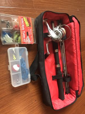 Kids fishing rod & tube kit for Sale in Hollywood, FL