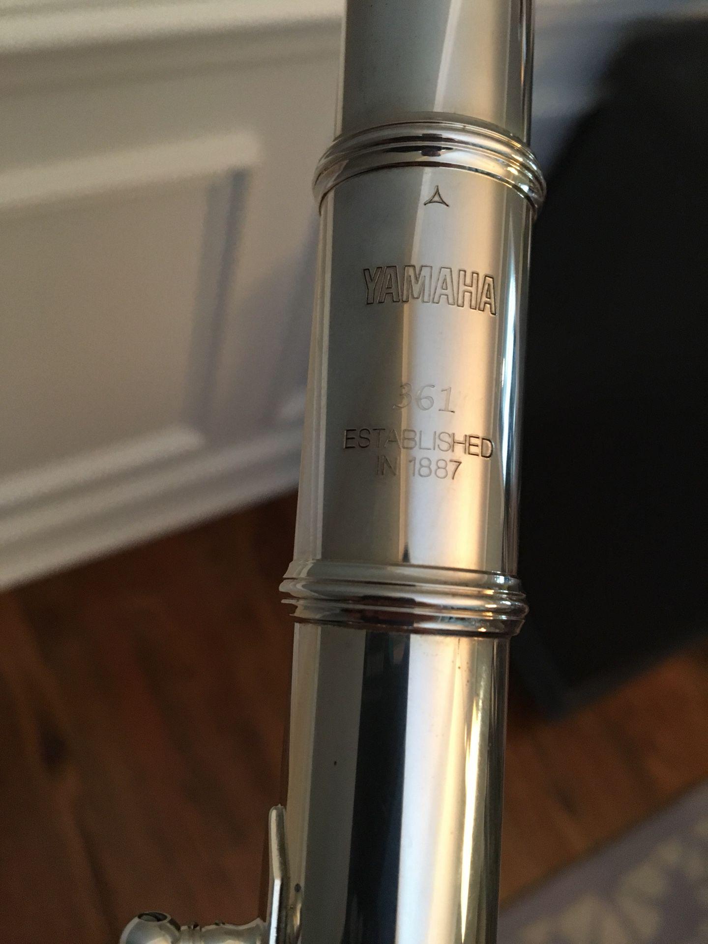 Yamaha 361 Silverhead 925 Flute