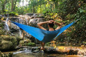 Hummingbird single hammock with tree straps for Sale in Seattle, WA