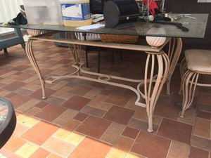 Glass table for Sale in Hialeah, FL