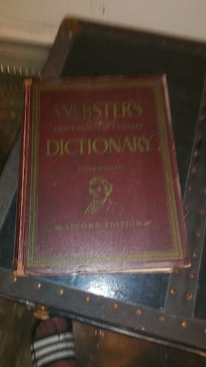 Old Webster dictionary for Sale in Philadelphia, PA