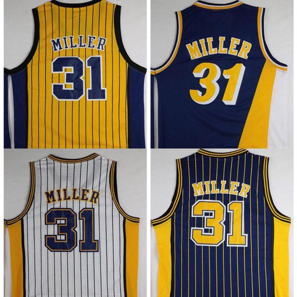 658079ffb Reggie Miller Indiana pacers throwback jersey for Sale in Lansing ...