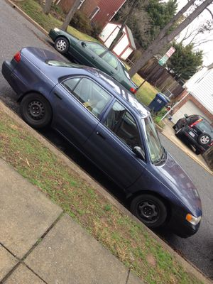 Clean title toyota corolla 1999 for Sale in Washington, DC