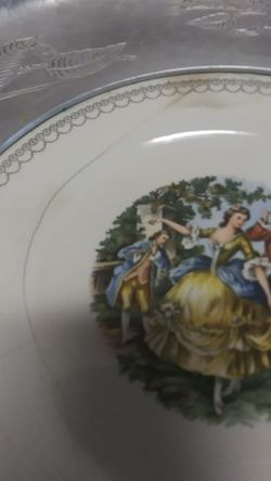 Vintage Wrought Farberware Tray Thumbnail
