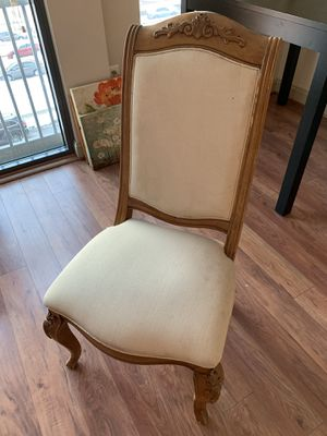 Antique dining chair. Solid wood. Hand carved. for Sale in Arlington, VA