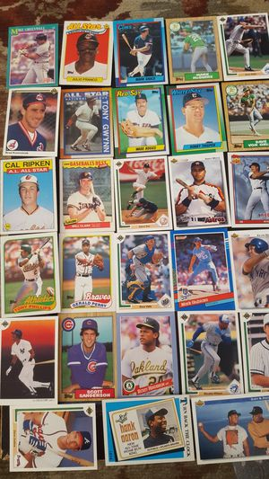 Large collection baseball cards for Sale in Westminster, MD