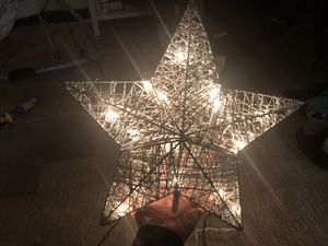 Christmas star lit for Sale in Dallas, TX